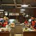 Négy csapat főzött, a halászlé és a pite mellett édesség és kuszkuszos saláta is készült