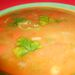 Íme a kész leves, erőspaprikával.