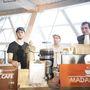 A Madal Cafe kávésfiúi.