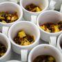 A Pannóniai halleves sáfránnyal, curryvel, gyömbérrel és lencsével frenetikus volt
