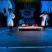 A flamenco-bot a színpadon.