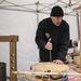 A frissen feldolgozott hús mellett egyéb kézműves termékeket is lehetett kóstolni, például speciális sajtokat