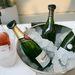 Pezsgő, champagne és konyak is szembejött a kiállításon