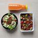 Réparetek: Répalé, a szokásos saláta és tofukockás finomság volt az ebéd.