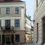 Győr történelmi belvárosa