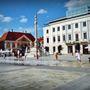 Győr egyik leghangulatosabb tere, a Széchenyi tér