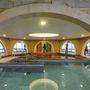 A februárban átadott fürdő kupolás medencéje