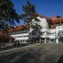Az Aquaticum Termál és Wellness Hotel épülete a felújított debreceni nagyerdei gyógyfürdő területén