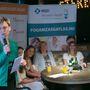 Jakupcsek Gabriella, az esemény háziasszonya még az esemény elején, hogy kalkulálni kell a résztvevők őszinteségével.
