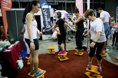 Twist & run: Kell egy kis idő ahhoz, hogy többféle gyakorlat is gond nélkül menjen.