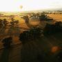 Új-Zéland: A Wairarapa borvidék hőlégballonról nézve
