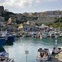 A máltai Gozo szigetén a Mgarr kikötőben