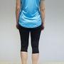 Asics hátulról, a nadrágot nagyon szerettem, a póló egy átlagosan jó futópóló