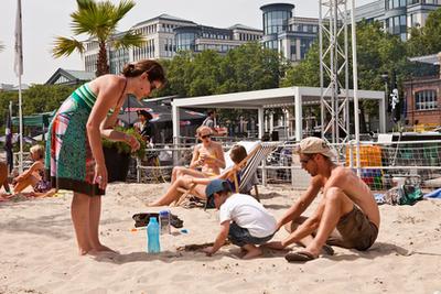 Egy hónapig ingyen strandolhatunk a belvárosban