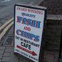 A díjnyertes fish and chipsre is befizettünk volna.
