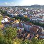 Graz a hegytetőről.