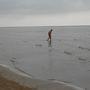 Közel a Balti-tenger is, bár ősszel már merész dolog fürödni benne.