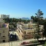 Kilátás az Alcazabából - óriási hajókból sosincs hiány Malaga kikötőjében