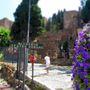 Az Alcazaba bejárata, Malaga