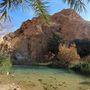 Néhol akár kisebb tóvá is felduzzad a patak - régen a sivatagban eltévedt vándorok, ma inkább a bevállalósabb turisták örömér - Tunézia