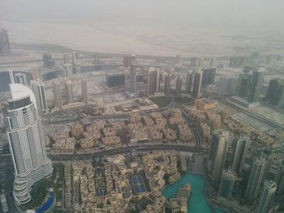 És ilyen Dubaj a levegőből
