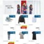 Íme az itthoni kínálat. Jó, azért ennél több minden van: a cipő három színben kapható, ahogyan a farmerkabát és -nadrág is, ingből és hosszított felsőből kétfélével találkozhatsz, női pólót pedig három különböző mintával gyártottak.