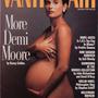 Szintet lépett a kismamadivat 1991 augusztusában, amikor a Vanity Fair pucéran tette címlapra az akkor hét hónapos terhes Demi Moore-t. Az ellentmondásos címlapot Annie Leibovitz lőtte a lapnak.