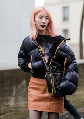 Gorpcore trend Jean Paul Gaultier kifutóján.