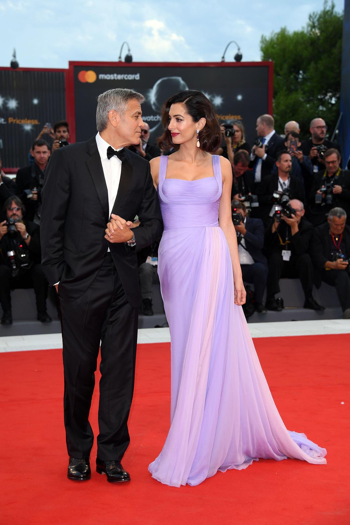 Amal és George Clooneyval búcsúzunk.