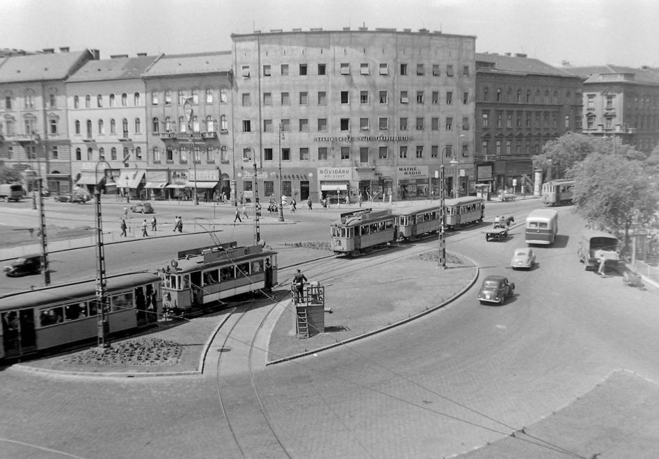 A Nyugati pályaudvar metróállomás mozgólépcsője, 1984