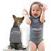 Érdekes ötlet a gyerek és a kutya ruházatának összehangolása