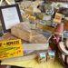 Ez a hónap sajtja, ebből 10 deka volt 2 euró. 14 hónapig érlelt hegyisajt. Megkóstoltuk, vettünk belőle, nem bántuk meg.