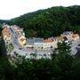 Szomszéd kisváros, Tharandt, a hegyről nézve.