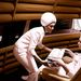 A francia tervező, Olivier Mourgue-féle Djinn (dzsinn) szék látható volt az 1968-ban készült 2001: Űrodüsszeiában is.