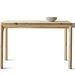 Fenyő étkezőasztal 2 fiókkal, kezeletlen fa: 54990.-