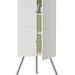 Háromlábú szekrényke, kifejezetten a sarkokba tervezett 3 polcos bútor, akár a falra is szerelhető: 24990.-