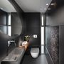 Monokróm fürdőszoba az egyszerűséget kedvelőknek.