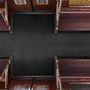 Ez pedig egy metrókocsi felülnézetből.