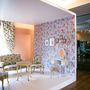 A négyzetbe álmodott szoba a régi és az új találkozása -véli a tervező