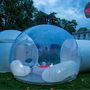 A sátorozást és a szabad ég alatt alvást csuklóból elvetőknek kínál egy újfajta alternatívát a Casa Bubble névre keresztelt project.