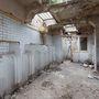 Így nézett ki a nyilvános WC a felújítás előtt.