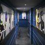 Egy, azóta elhunyt zenész barát emlékére készült a metrofolyosó