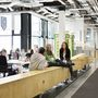 Az építészek egy 12 méter hosszú fapadot is becsempésztek az irodába, melyet 2012-ben kiállítottak a velencei Biennále írországi pavionjában is.