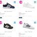 Ezek az olcsó Adidasok az Office Shoes-ban.