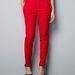 Piros nadrág, ugyanonnan, 9995 forint