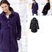 Gyönyörű ez a sötétlila kabát, 13 999 forintba kerül.