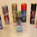 Íme, ezeket a termékeket teszteltük. Mindegyik színes, vagy legalább csillog, de nem mindegyik hajra való.