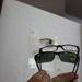 A két keret formájában teljesen ugyanolyan. Az egyik optikai, a másik napszemüveg. Ez például kitűnő választás sötétedő lencséhez.