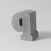 Kedves ötlet lehet a rokon monogramját megvenni betonból. FAB, 37 euro(11 ezer forint)/betű.