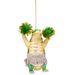 Szurkolólány krokodil csillámos szoknyában. Tud ennél jobbat a karácsonyfára?